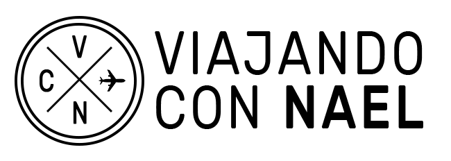 Logo Viajando con Nael, Blog de viajes